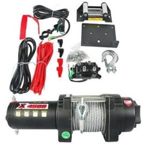 12 volt atv utv winch motor assembly kit 4500lb rating 8935 0 - Denparts