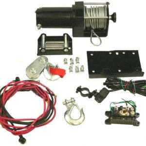 12 volt winch motor kit for atv utv 3500lb rating 8951 0 - Denparts
