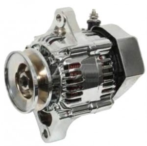 alternator chrome fits racing applications one wire 27060 78001 27060 78001 71 2074 0 - Denparts