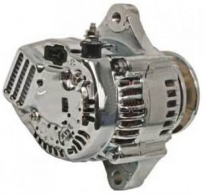 alternator chrome fits racing applications one wire 27060 78001 27060 78001 71 2074 1 - Denparts