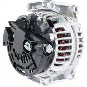 alternator fits saab 9 3 2 0l 2003 2004 03 04 includes 5 groove decoupler pulley 14916 1 - Denparts