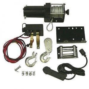 atv winch motor assembly kit includes removable toggle switch 2500lb rating 12432 0 - Denparts