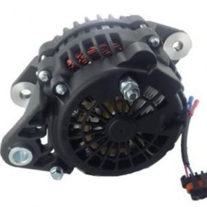 brushless 180 amp alternator replaces cummins john deere doosan w j 180 mount 8238 1 - Denparts