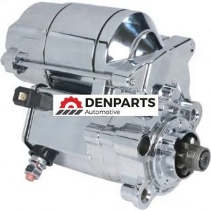 chrome starter for harley davidson motorcycles replaces 31390 860 - Denparts