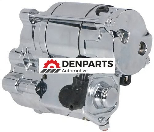 Chrome Starter for Harley-Davidson Motorcycles | Replaces 31390-86