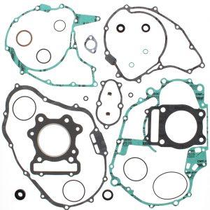 complete gasket kit w oil seals honda trx300 fourtrax 77mm ob 300cc 1988 2000 86377 0 - Denparts