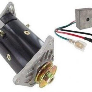 generator and regulator for ez go workhorse 1200 800 st350 golf cart 1994 2008 68610 0 - Denparts