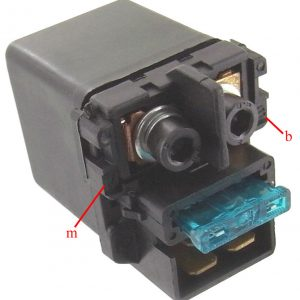 honda pc800 pc 800 pacific coast motorcycle new solenoid relay 1989 1998 102461 1 - Denparts