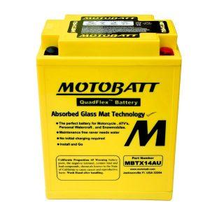 motobatt battery for polaris 500 600 700 snowmobiles ytx14ah 111244 0 - Denparts