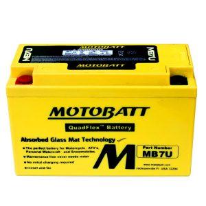 motobatt mb7u 12v 6 5ah motorcycle battery replaces yt7b bs yt7b4 115154 0 - Denparts