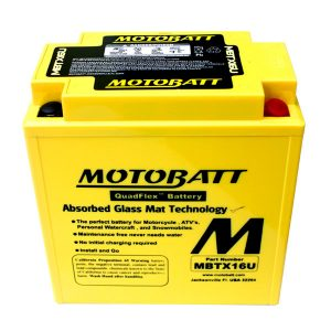 motobatt mbtx16u 250cca factory activated quadflex agm battery 91958 0 - Denparts