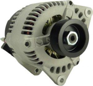 new 100a alternator fits new holland tractors ts100 ts110 ts90 4 cyl 4 5l 1998 16294 0 - Denparts
