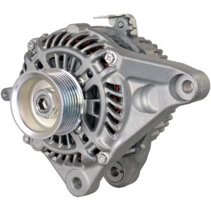 new 12 volt 110 amp alternator replaces honda 31100 5b0 y02 31100 5b0 y02rm ahga87 99990 0 - Denparts
