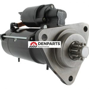 new 12 volt 4 2kw starter replaces case 84146320 87419387 mahle ms101 ms0101 61605 0 - Denparts