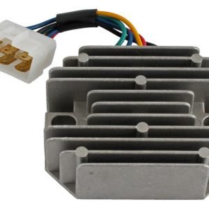 new 12 volt 6 terminal regulator for grasshopper 185530 rs5155 74436 0 - Denparts
