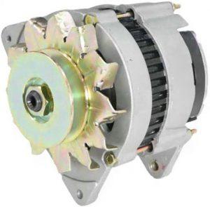new 12 volt alternator fits ford backhoe 555e 575e 655e 675e diesel 76291 0 - Denparts