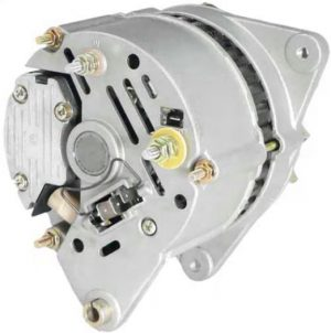 new 12 volt alternator fits ford backhoe 555e 575e 655e 675e diesel 76291 1 - Denparts