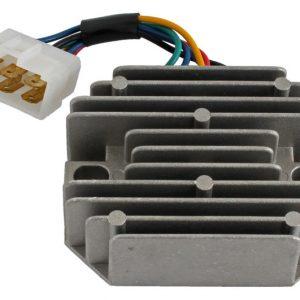 new 12 volt regulator fits kubota mowers f2000 f2100e gf1800 r gf1800e r 74428 0 - Denparts