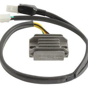 new 12 volt regulator for honda motorcycle nx250 249cc engine 31600 kw3 010 31600 kw3 000 10823 0 - Denparts