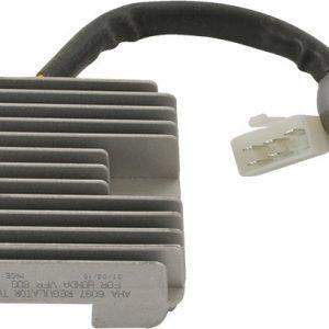new 12 volt regulator for honda motorcycles vfr800 interceptor abs 781cc 2002 2003 46445 0 - Denparts