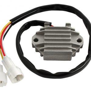 new 12 volt regulator replaces yamaha motorcycle 5tj 81960 01 00 5tj 81960 80 00 46275 0 - Denparts