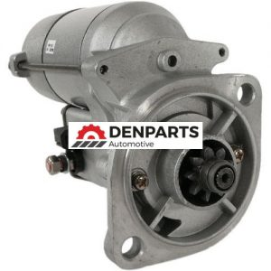 new 12 volt starter fits john deere excavators with isuzu engine 3ld2 3ld1 4le 10469 0 - Denparts