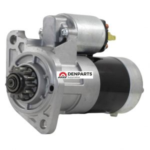new 12v starter fits caterpillar excavator 304cr with s3l s3l2 mitsubishi engine 11189 0 - Denparts