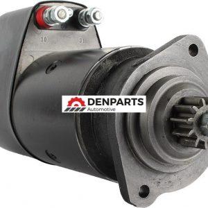 new 24 11 tooth volt starter replaces liebherr 629 00 44 bosch 0 001 416 069 900 0 - Denparts