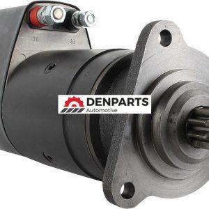 new 24 volt starter fits mercedes benz 1932ak cummins ism 1973 1983 001 151 97 01 11480 0 - Denparts
