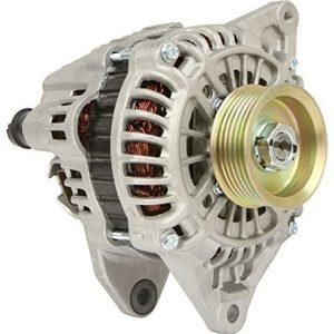 new 90 amp alternator fits mitsubishi lancer 2 0l 2000cc turbocharged 2003 2004 14243 0 - Denparts
