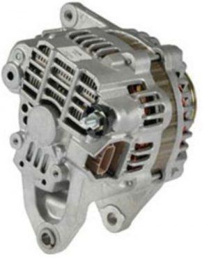 new alternator mitsubishi outlander 2 4l 2003 03 90 amps 12v with s6 pulley 13675 1 - Denparts