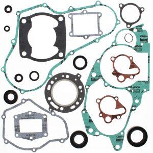 new complete gasket kit w oil seals honda atc250r 250cc 1985 1986 115007 0 - Denparts