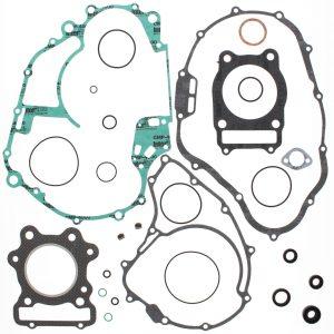 new complete gasket kit w oil seals honda atc250sx 250cc 1985 1986 1987 85122 0 - Denparts