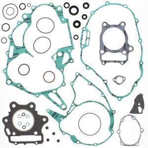 new complete gasket kit w oil seals honda trx300 ex 300cc 1993 2008 89399 0 - Denparts