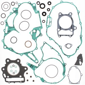 new complete gasket kit w oil seals honda trx300 x 300cc 2009 89491 0 - Denparts