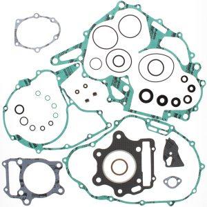 new complete gasket kit w oil seals honda trx300 x 77mm ob 300cc 2009 85108 0 - Denparts