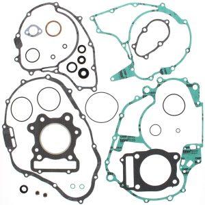 new complete gasket kit w oil seals honda trx300fw fourtrax 4x4 300cc 1988 2000 89019 0 - Denparts