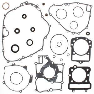 new complete gasket kit w oil seals kawasaki kef300 lakota 300cc 1995 2003 86742 0 - Denparts