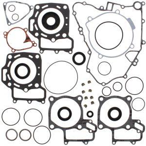 new complete gasket kit w oil seals kawasaki kfx 700 v force 700cc 2004 2009 87644 0 - Denparts