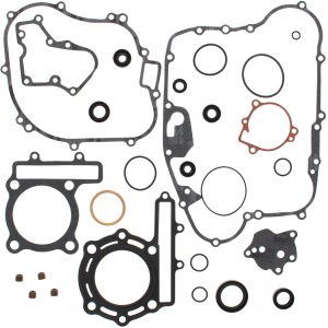 new complete gasket kit w oil seals kawasaki kfx250 mojave 250cc 1987 2004 85462 0 - Denparts