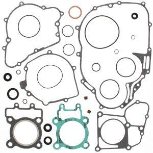 new complete gasket kit w oil seals kawasaki klf220 bayou 220cc 1988 2002 88895 0 - Denparts