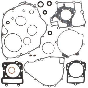 new complete gasket kit w oil seals kawasaki klf300a bayou 300cc 1986 1987 87661 0 - Denparts