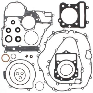 new complete gasket kit w oil seals kawasaki klf300c bayou 4x4 300cc 1989 2005 86418 0 - Denparts