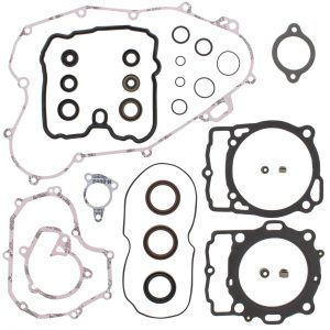 new complete gasket kit w oil seals ktm exc r 450 450cc 2008 87532 0 - Denparts