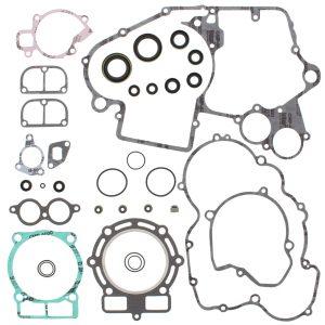 new complete gasket kit w oil seals ktm mxc g 450 450cc 2003 2004 85542 0 - Denparts