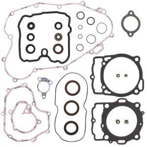 new complete gasket kit w oil seals ktm xc w 400 400cc 2009 2010 89264 0 - Denparts