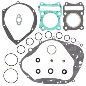 new complete gasket kit w oil seals suzuki dr100 100cc 83 84 85 86 87 88 89 90 85980 0 - Denparts