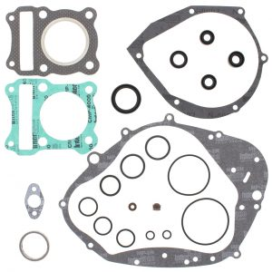 new complete gasket kit w oil seals suzuki dr125 125cc 1986 1987 1988 85608 0 - Denparts