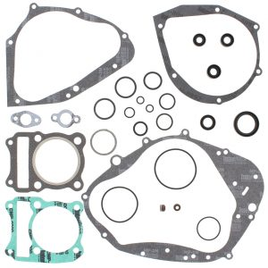 new complete gasket kit w oil seals suzuki dr200 200cc 1986 1987 1988 86293 0 - Denparts