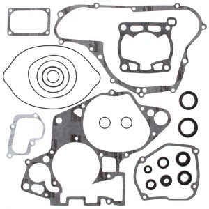new complete gasket kit w oil seals suzuki rm125 125cc 1998 1999 2000 77433 0 - Denparts